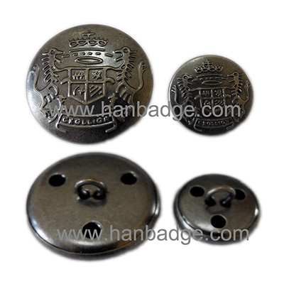 military button 05